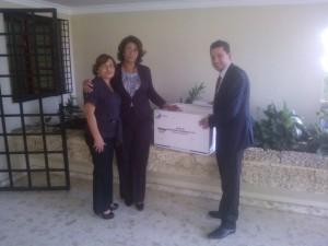 REGIONAL NORCENTRAL RII MSP EFECTÚA ENTREGA DE MICROSCOPIOS AL HOSP. JUAN XXIII