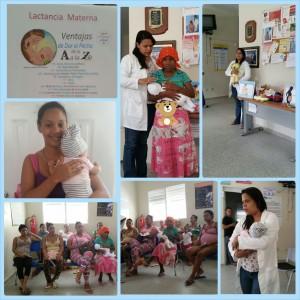 Reunión con Parte de las Usuarias Club de Embarazadas CPN El Guano Zona 1 – ÁREA 2