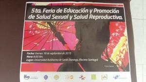 Acto Inaugural 5ta. Feria de Educación y Promoción de Salud Sexual y Salud Reproductiva