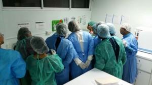 Practica sobre taller realización de pruebas TB y HIV en primer nivel atención