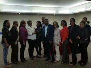 Equipo (SAI) Región II con el Dr. Eliel Rosario