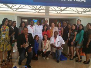 Participación en el congreso de infectología con la Dra. Belkis Marcelino, Directora Nacional del Programa Alto a la Tuberculosis