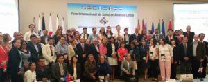 Concluyó 18 nov. 2016 hoy el Foro Internacional de Salud en América Latina