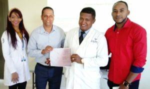Servicio Regional de Salud Norcentral agradece ayuntamiento Hato del Yaque por la entrega de terrenos para realización de Centro de Atención Primaria