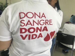 EXITOSA  JORNADA DONA SANGRE ES DONAR VIDA COLECTA 88 UNIDADES DE SANGRE