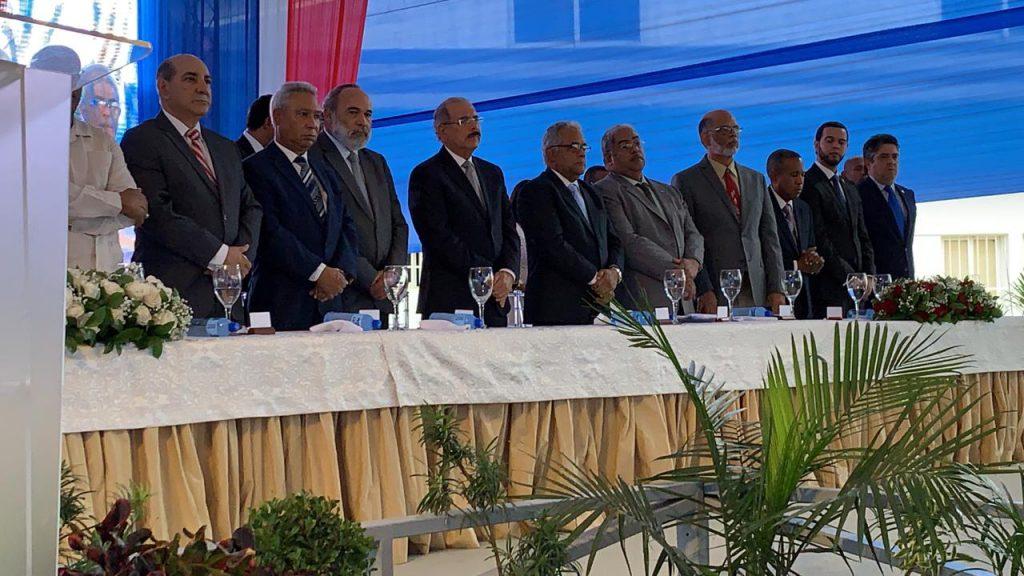 Inauguran hospital provincial Toribio Bencosme, en Moca