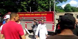 Hospital de Moca realiza simulacro de sismo