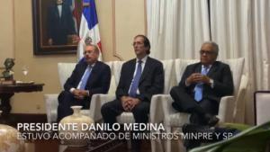 Presidente Medina sostiene videoconferencia con homólogos del SICA