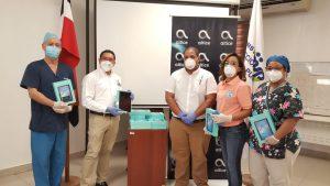 Hospital Ricardo Limardo recibe 50 tabletas digitales para uso de pacientes COVID-19