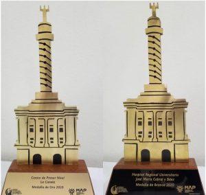 Hospital y CPN de Santiago reciben Premio Provincial a la Calidad