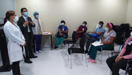 Hospital Cabral y Báez integra nuevo personal de enfermería
