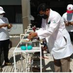 Hospital Estrella Ureña recibe donación de lavamanos de Cruz Roja Dominicana