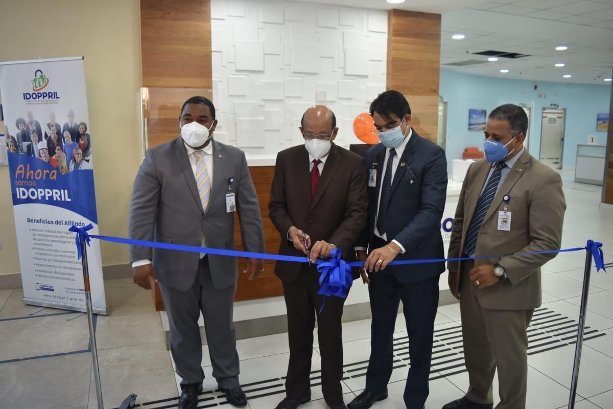 IDOPPRIL inaugura Módulo de atención en Hospital Cabral y Báez