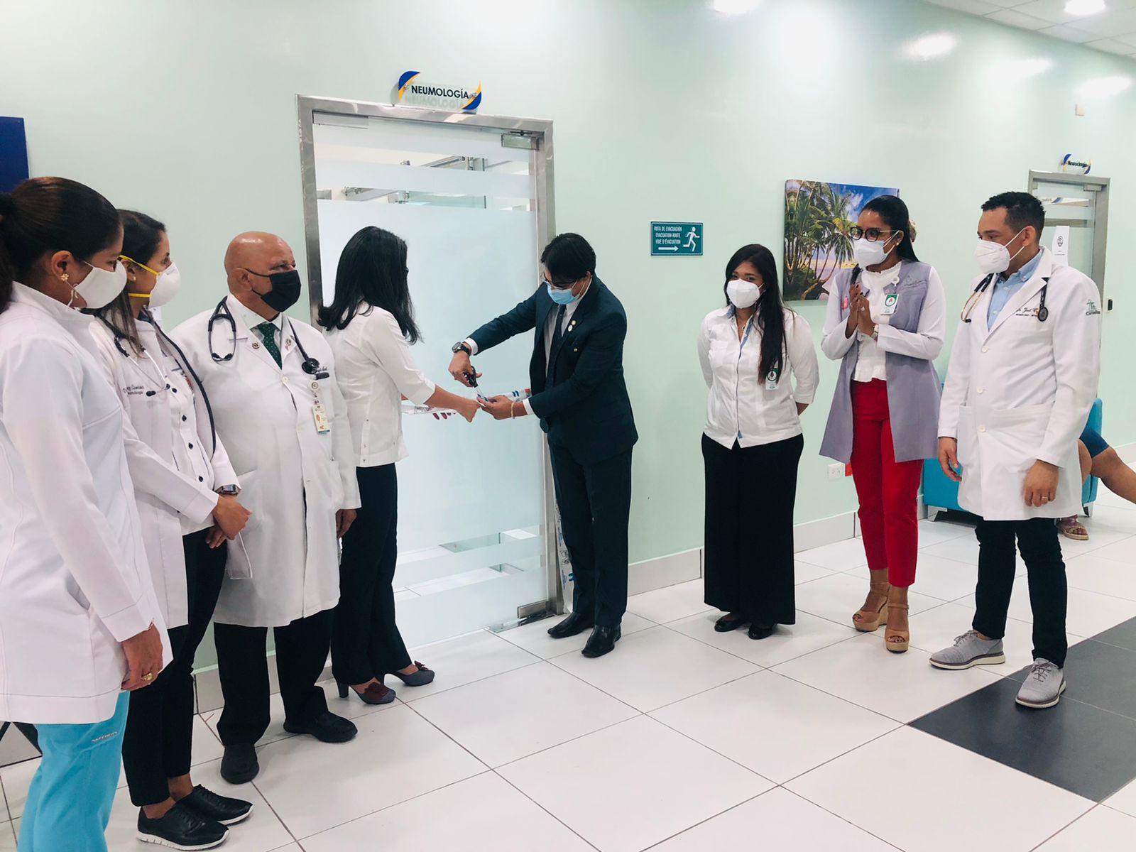 Inauguran Unidad de Neumología y Cirugía Torácica en Hospital Cabral y Báez